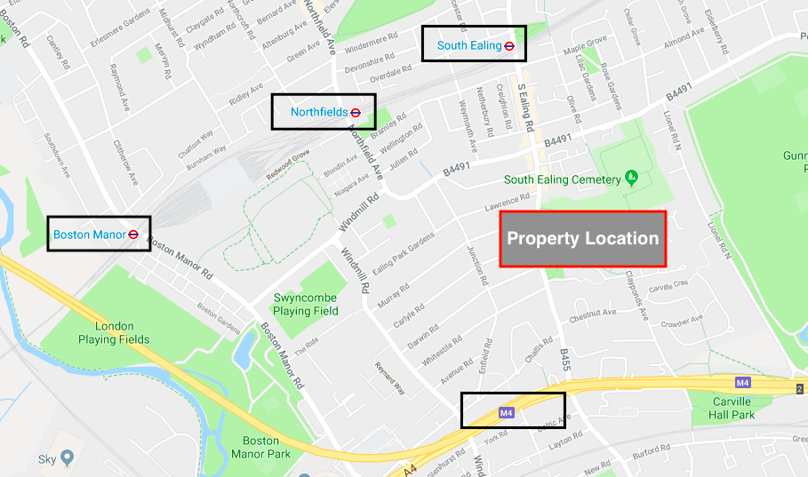 commercial investment ealing