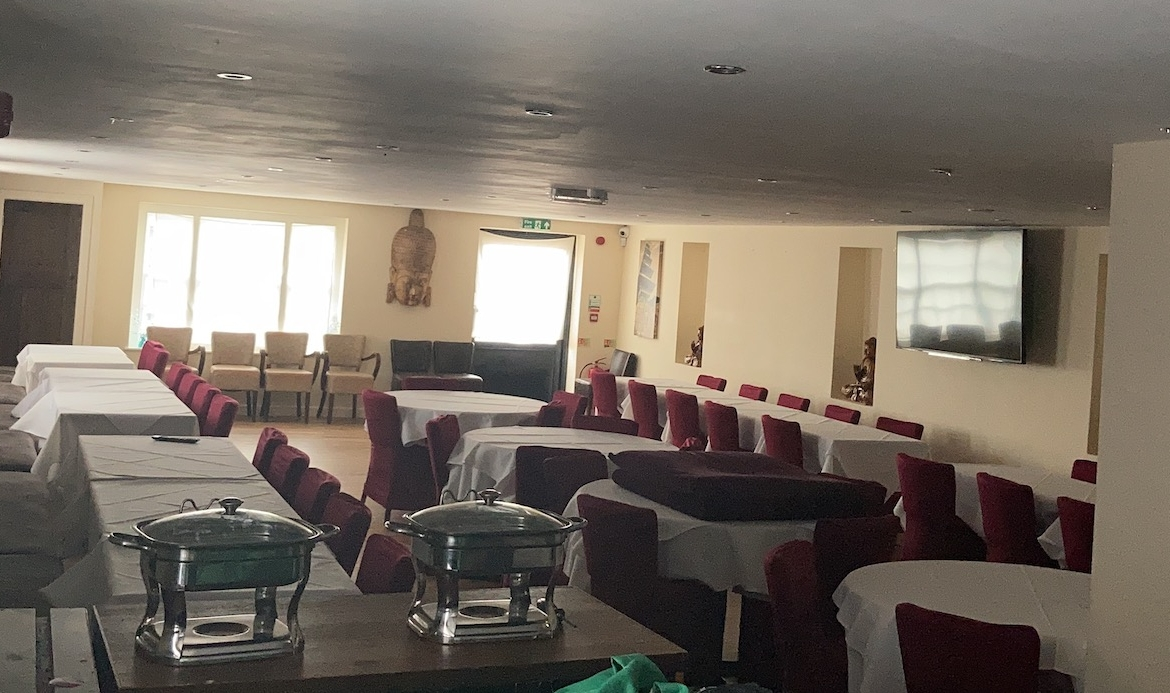 restaurant with banquet for sale