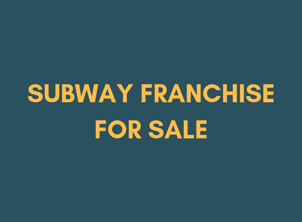 subway franchise for sale west london