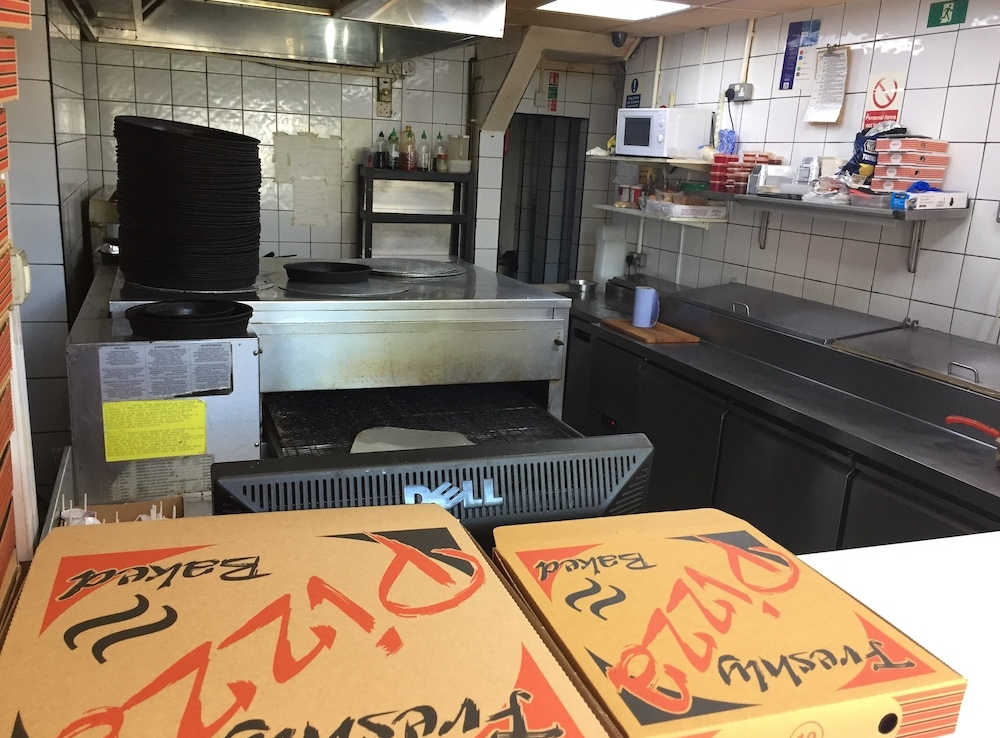 pizza takeaway for sale