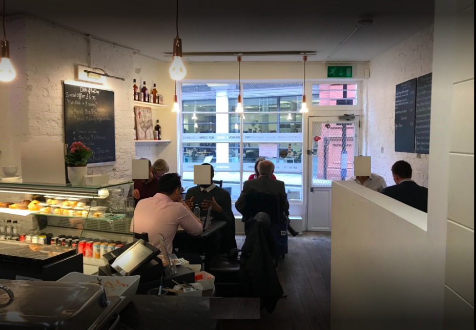cafes for sale in london