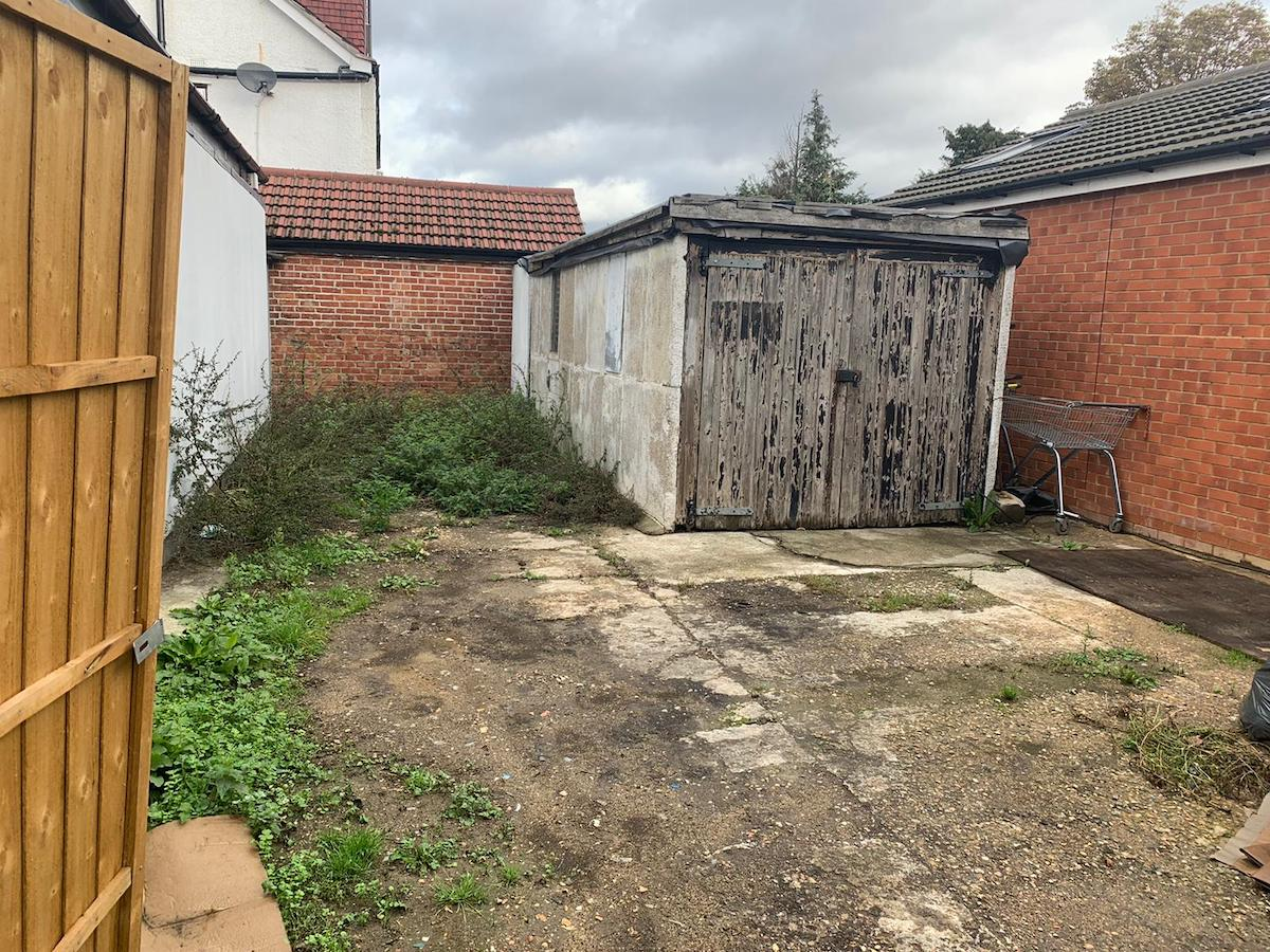 business for sale with garden